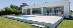 Casa C Puerto Roldan: Casas de estilo moderno por VISMARACORSI ARQUITECTOS