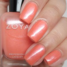 Zoya - Zahara. Spring 2016 Petals Collection - Swatches & Review