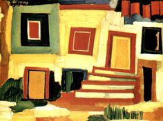 Amadeo de Souza-Cardoso, A Clear House, 1916