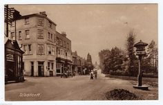 The Bricklayers Arms (left), Westcott, near Dorking.