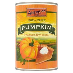 Authentic American Pumpkin Puree