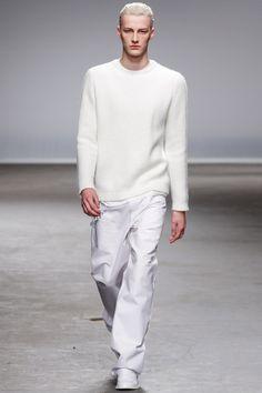 Richard Nicoll Fall 2013 Menswear Collection Slideshow on Style.com