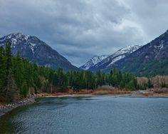 Wallowa Lake State Park in Joseph, Oregon