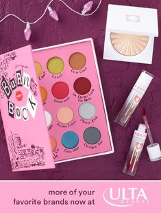 These brands are so fetch (and yes, we're making fetch happen.) Tap to shop Storybook Cosmetics, Sugarpill, Ofra, and more of your favorite brands at Ulta Beauty. Cute Makeup, Makeup Art, Beauty Makeup, Prom Makeup, Make Up Palette, Makeup Goals, Makeup Tips, Makeup Products, Storybook Cosmetics