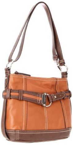 Tignanello Soft Cinch 2 Hobo,Whiskey/Brown