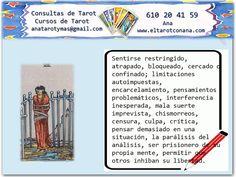 Los Menores del Tarot: OCHO DE ESPADAS Tarot Significado, Tarot Gratis, Love Tarot, Luis Royo, Tarot Reading, Witches, Tips, Books, Study