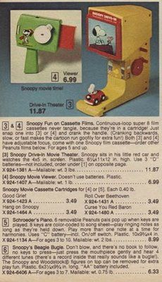 vintage snoopy drive in theater