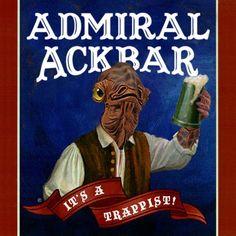 star wars beer Archives - The Beer Drifter. Star Wars Art, Star Trek, Admiral Ackbar, Star War 3, Nerd Love, A New Hope, Star Wars Humor, Love Stars, Geek Girls