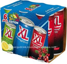 XL Energy Drink Special Edition 6-pack Keeping you awake!