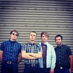 The Spitfires wearing Brutus Trimf Tailor Made Suits, The Spitfires, East London, Check Shirt, Sportswear, Couple Photos, Celebrities, Instagram Posts, How To Wear
