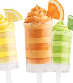 #YUM Citrus Treat Pops from @Wilton Cake Decorating Cake Decorating :) Perfect for a hot #summer day!