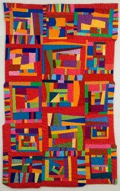 'Jazz Rhythms' ...amazing quilt creations by Cindy Grisdela. http://artizanmade.com/portfolio/cindy-grisdela-art-quilts/