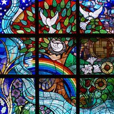 Daisy Hill Hospital, Newry, Northern Ireland, by Ann Smyth, Stained Glass Artist