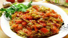 Икра из баклажанов получается такая ароматная и насыщенная, очень сытная и аппетитная!