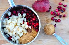 The Whole Life Nutrition Kitchen: Cranberry-Pear Sauce (refined sugar-free)