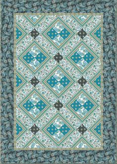 free quilt pattern - Gyspy Quilt Pattern I like the coordinated fabrics. Could you this pattern for another range of coordinates