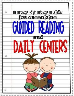 Step by step guide to setting up guided reading and daily centers. This would have been a great resource my first year.