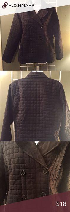 Dollhouse Peacoat Dollhouse Coat. Really nice, black quilted coat. Size medium Dollhouse Jackets & Coats