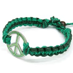 hemp bracelets | Green Peace Hemp Bracelet - Hemp Necklace Store