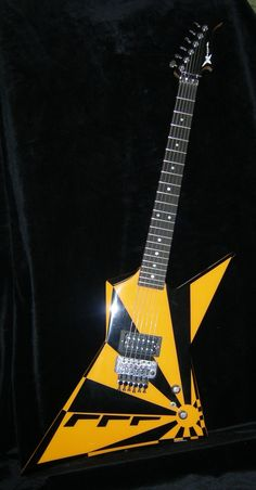 Oz Fox Custom Electric Guitar - Wayne Charvel