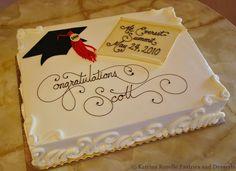 pictures of graduation cakes for boys | Katrina Rozelle Pastries & Desserts | Graduations