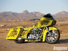 '07 Harley Davidson Road Glide Radical Cover Spread...Crazy cool graphics