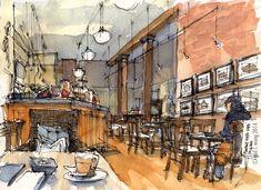 Urban Sketchers: Beyond Starbucks