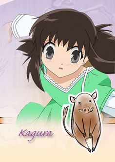 i amknown as Kagura!!!!!   kyo my darling......why havent you calledme!!!!