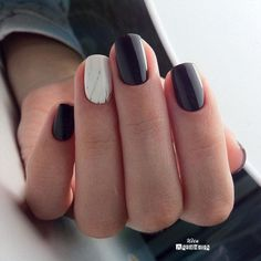 What Christmas manicure to choose for a festive mood - My Nails Easy Nails, Simple Nails, Cute Nails, Manicure, Gelish Nails, Acrylic Nail Designs, Acrylic Nails, Nailed It, Minimalist Nails