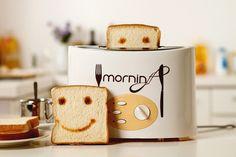 Happy Morning Toaster #Toaster