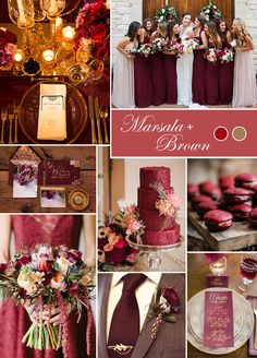 While we love everything the autumn color spectrum has to offer, we've narrowed it down to the four must-have wedding color palettes of the moment. Take a look at the color combinations we can't help but crush on.