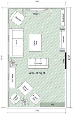 A List Of Small Medium And Large Living Room Size Dimensions With The Effect On Living Room Layout Ideas For The House Pinterest Living