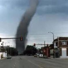Tornado in my home town. Joshua Tx.. Today