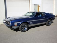 1971 FORD MUSTANG MACH 1 FASTBACK - Barrett-Jackson Auction Company