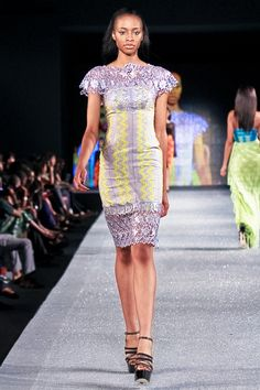 Jil Couture at Arise Magazine Fashion Week Lagos 2012