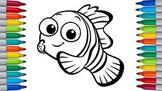 NEMO Coloring Pages for Kids | FINDING NEMO Nemo Coloring Pages, Coloring Pages For Kids, Tom And Jerry, Finding Nemo, Great Barrier Reef, Fluttershy, Rainbow Dash, Make It Yourself, Coloring Pages For Boys