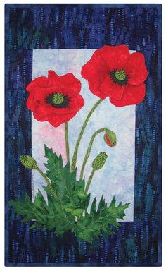 Timeless Floral Poppy Quilt Pattern