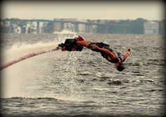Ben Merrel performing Dolphin Dive in an awesome style. #BenMerrell #flyboard #flytronics #awesome #stunt #board #dive #Dolphin #ben