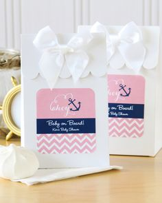 You've never heard as many oohs and ahhs in one place at one time until you've given these personalized baby candy bags at a baby shower, they're simply flawless!