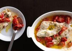 This baked flounder is so easy, so flavorful, and so ready to land on your dinner table. Pro tip: The recipe works best in summer when tomatoes are ripe and abundant. Quick Recipes, Fish Recipes, Seafood Recipes, New Recipes, Cooking Recipes, Favorite Recipes, Healthy Recipes, Dinner Recipes, Whole30 Recipes