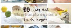 50 Usos del Bicarbonato de sodio en el hogar | La Bioguía