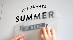 Why wall decals and about us | Made of Sundays