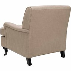 Safavieh Chloe Upholstered Club Chair, Multiple Colors, Gold