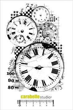 Tampon : Background Horloges en vente sur notre boutique en ligne spécialisée dans le scrapbooking et les fournitures de loisirs créatifs. Tout notre matériel est disponible en ligne.