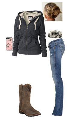 Still comfy even in jeans by taylor-125 on Polyvore featuring polyvore, fashion, style, Fat Face, True Religion and Blazin Roxx