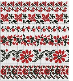 Gallery.ru / Фото #89 - 5 - Auroraten Cross Stitch Rose, Cross Stitch Borders, Cross Stitch Charts, Cross Stitch Designs, Cross Stitching, Cross Stitch Embroidery, Hand Embroidery, Loom Patterns, Embroidery Patterns