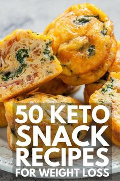 Looking for simple make-ahead keto snacks for weight loss? From easy no bake peanut butter bars, to chocolate fat bombs, to crunchy parmesan chips, to our favorite low carb brownies, we've got 50 sweet and savory recipes you'll love! Healthy Recipes, Ketogenic Recipes, Keto Recipes, Keto Snacks On The Go Ketogenic Diet, Keto Diet For Vegetarians, Snacks Recipes, Jam Recipes, Low Carb Diets, Vegan Snacks