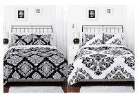 Classic Noir Reversible 3-Piece Bedding Comforter Set (Queen) - $49.97 at Wal-Mart.com