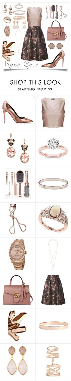 """""""Untitled #535"""" by neflaluna on Polyvore featuring Alexander Wang, Miss Selfridge, Effy Jewelry, Cartier, Charlotte Tilbury, Rolex, Lana Jewelry, Gucci, Luxe and Dina Mackney"""