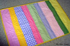 Easter Ruffle Quilt